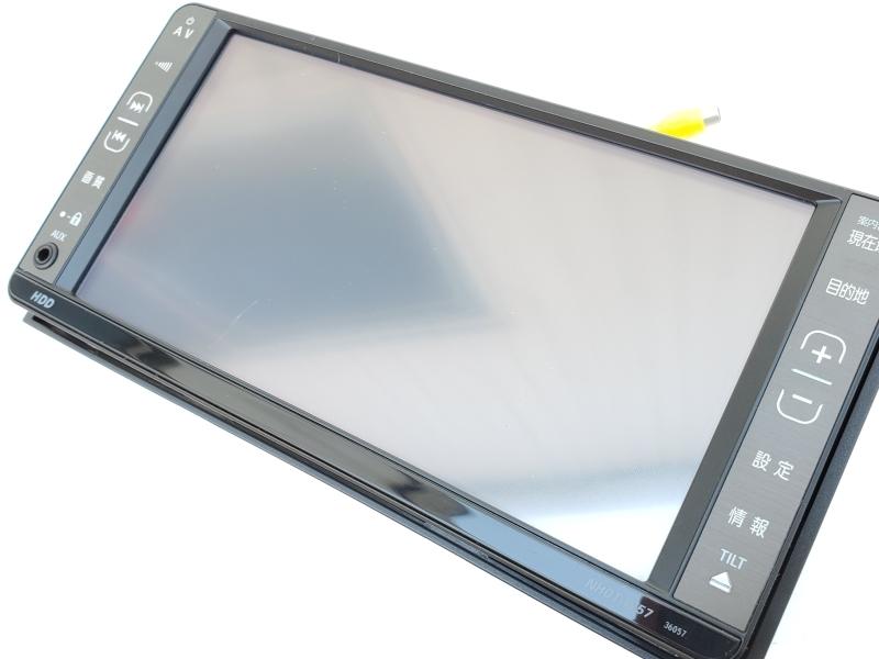 動作OK トヨタ純正 NHDT-W57 HDDナビ 取扱説明書 GPS マイク付き 即決あり_画像5