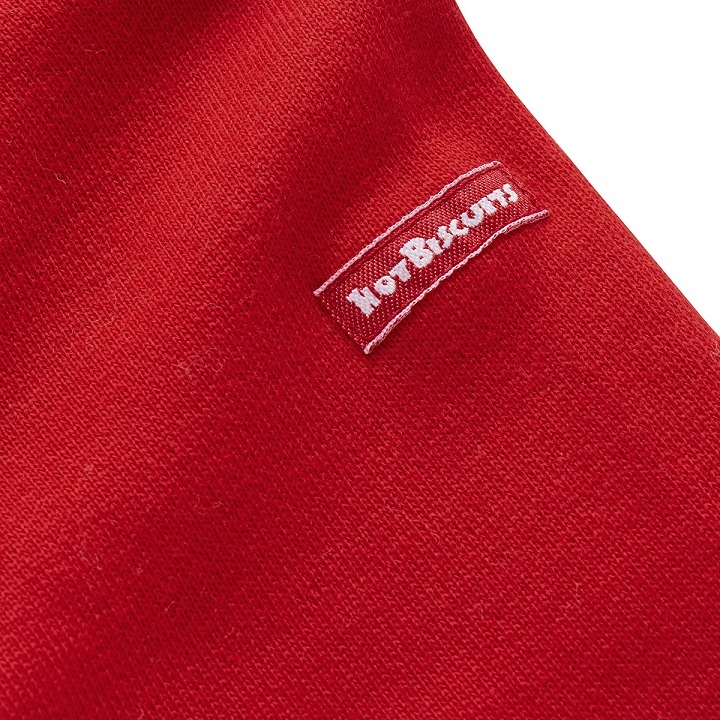 即決です!【ミキハウス】ホットビスケッツ新品未使用♪mikihouse 100cm 95cm~105cm 賑やかなプリントの可愛らしいトレーナー カラー:赤_画像5