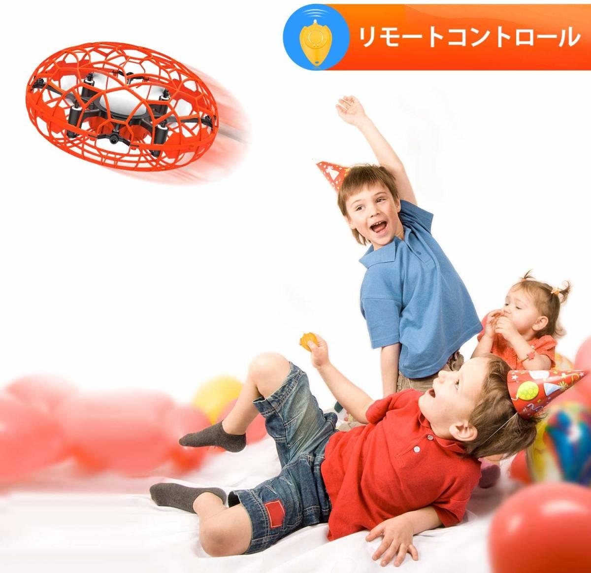 即決★新品未開封★2019年最新!ドローン 子供用 初心者 360°回転 高度維持 日本語説明書付き 衝撃防止 ケガ防止 おもちゃ ラジコン_画像2