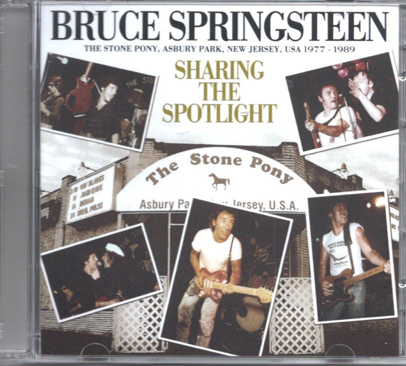 Bruce Springsteen The Stone Pony Warm Up 1984 初週CD-R付き_画像3