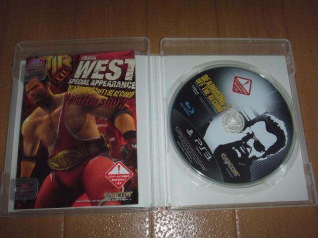 中古 PS3 デッドライジング2 オフ・ザ・レコード 即決有 送料180円 _画像1