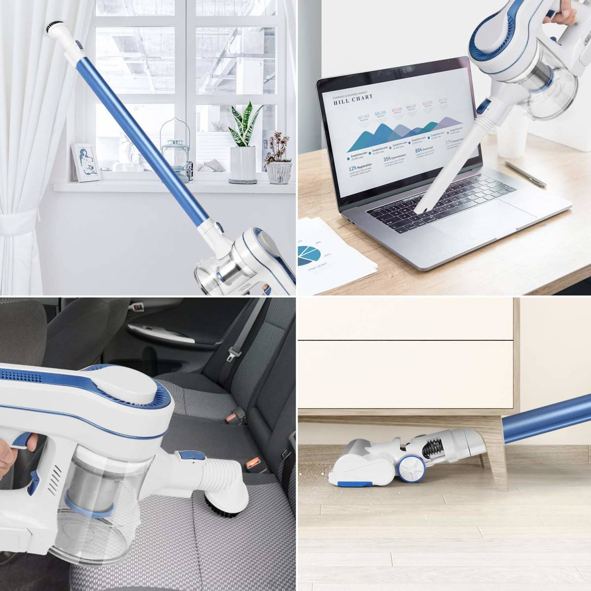 * new goods * unused * cordless vacuum cleaner APOSEN H250 18000PA Cyclone type stick cleaner handy cleaner 35 minute interval continuation operation mode switch
