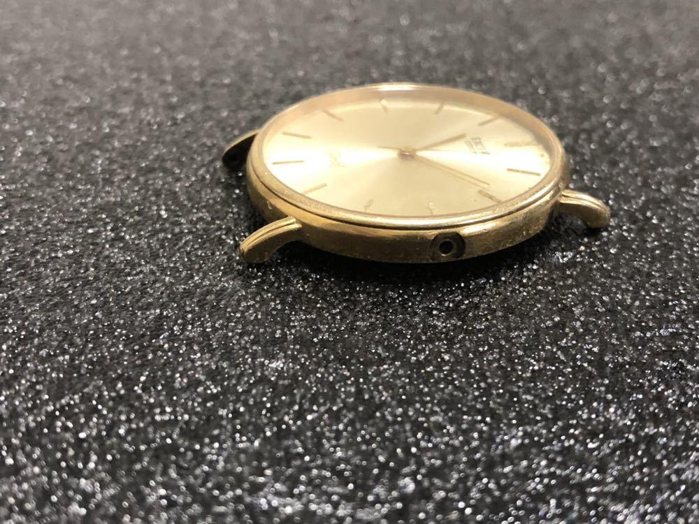 CITIZEN シチズン EXCEED エクシード GOLD 750/18K刻印有 金無垢 クォーツ 腕時計 総重量約20.0g_画像3