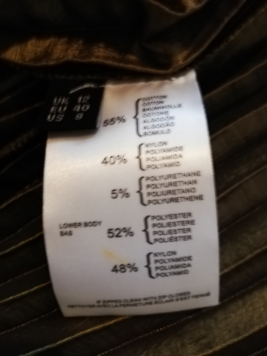 美品 PRINGLE 1815 プリングル パフスリーブ バルーン袖 ドッキング ワンピース プリーツ 40 上品_画像5