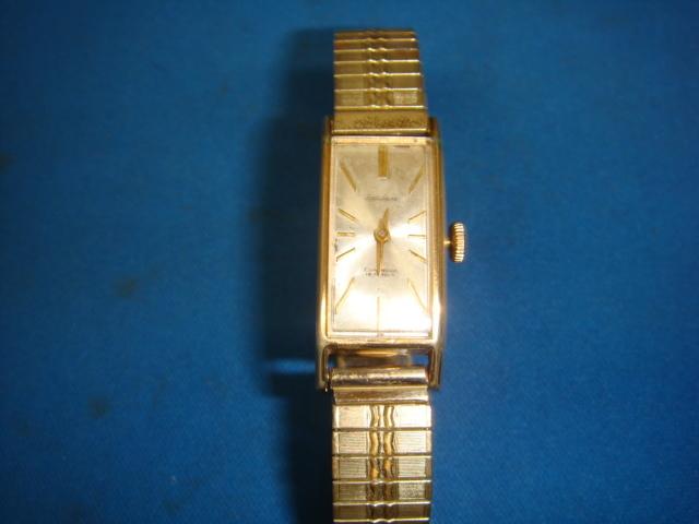 ◆◇446L【アンティーク】セイコーソーラー 手巻腕時計GF(動品)◇◆_画像1