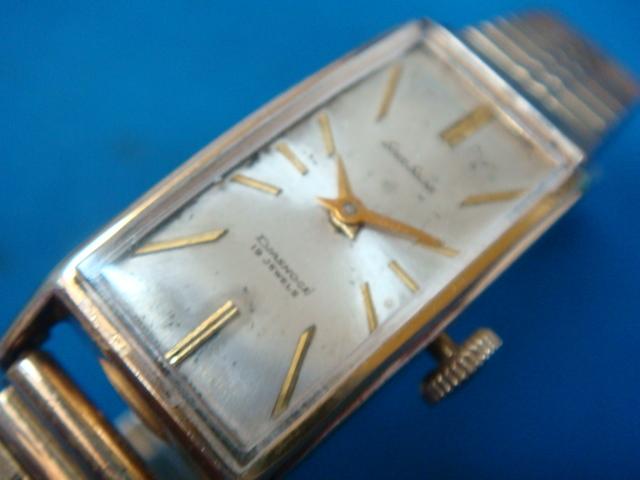 ◆◇446L【アンティーク】セイコーソーラー 手巻腕時計GF(動品)◇◆_画像3