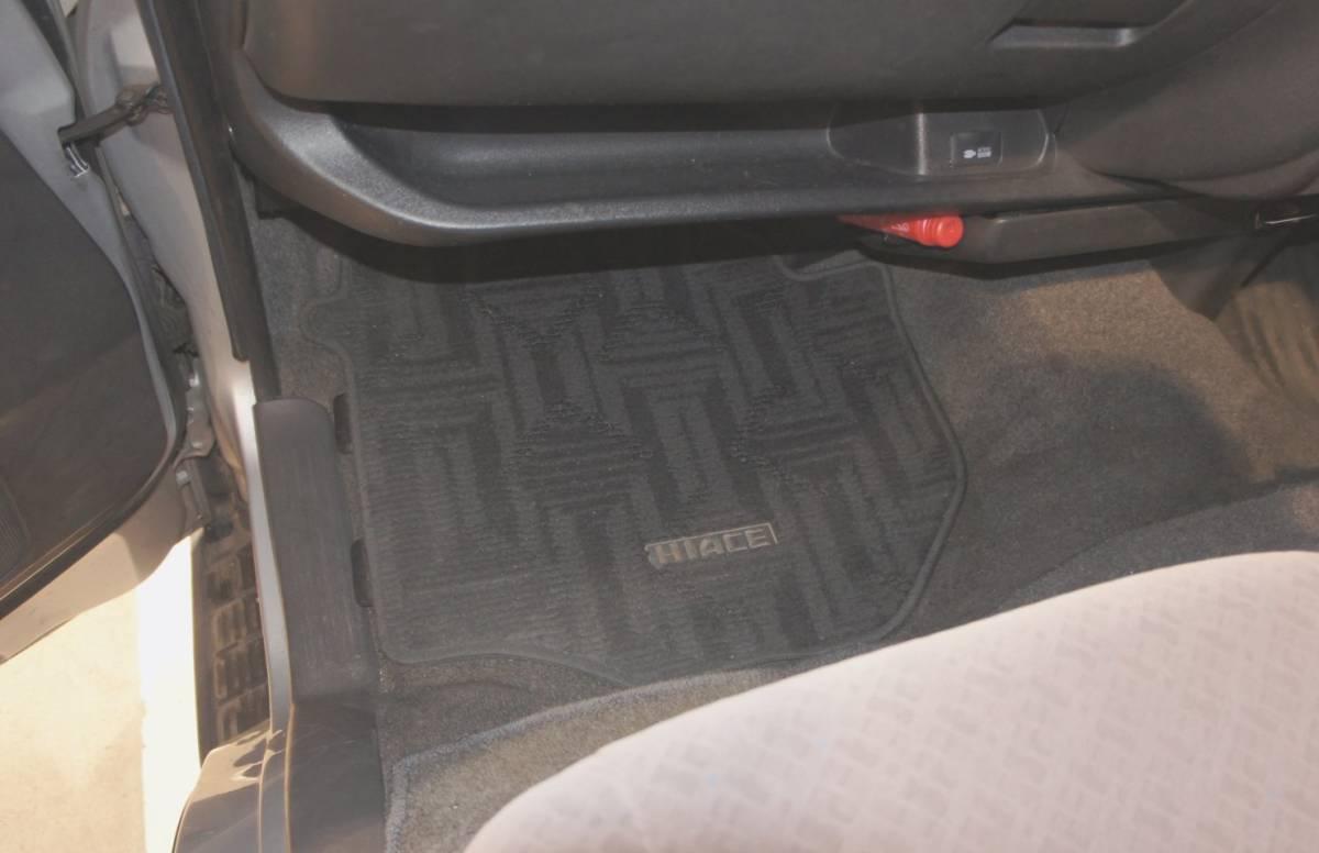 トヨタ 2007yハイエース S-GL 無事故ワンオーナー 左右スライドドア 車検見積りあり_画像6