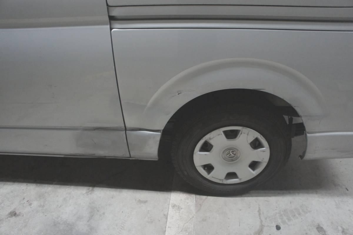 トヨタ 2007yハイエース S-GL 無事故ワンオーナー 左右スライドドア 車検見積りあり_画像4