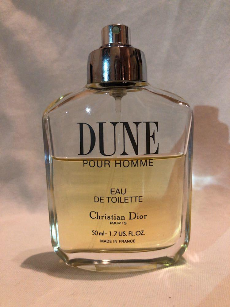 Dior ディオール DUNE デューン プールオム オードトワレ EDT 香水 50ml_画像1