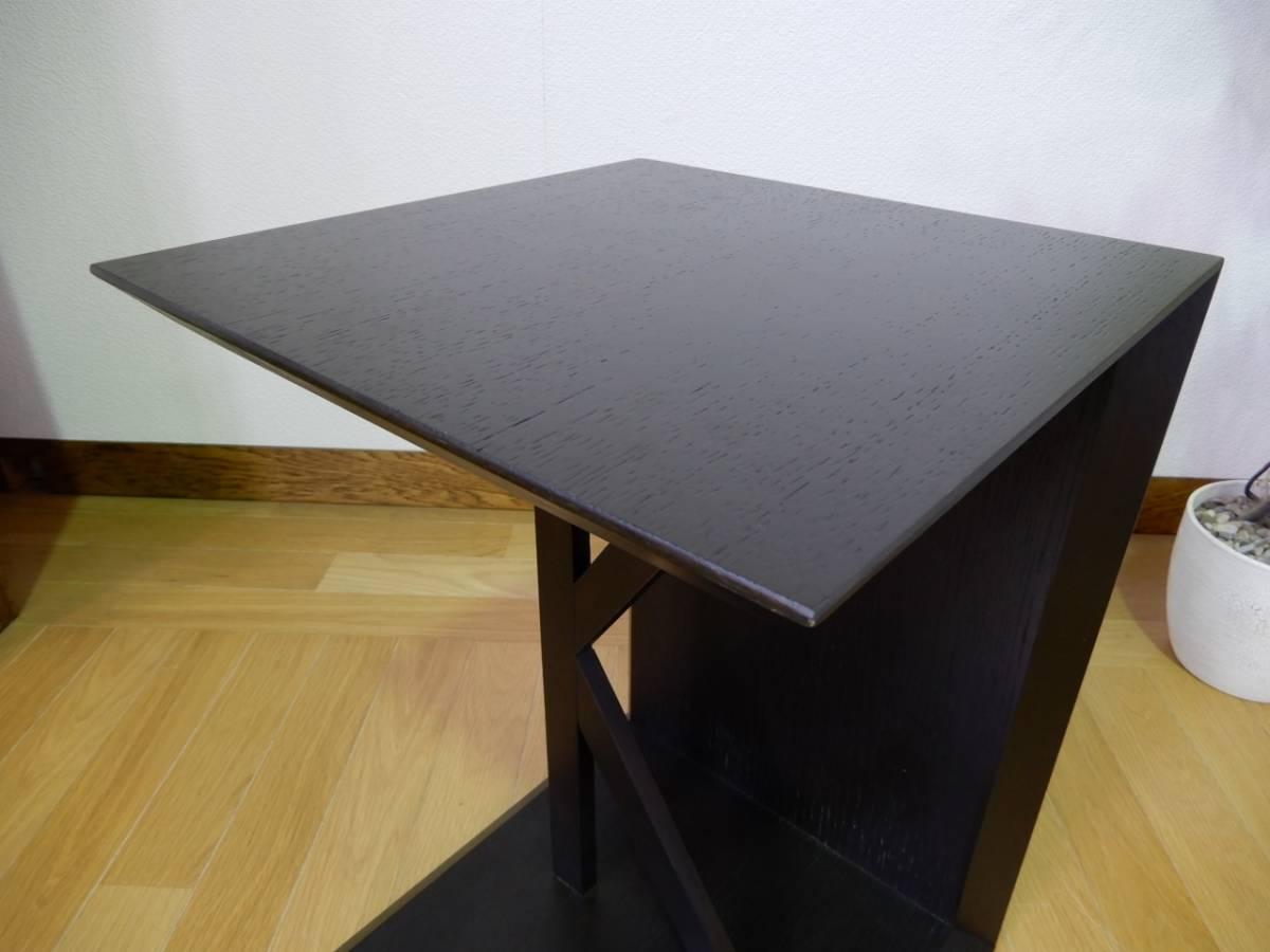 ① KEN OKUYAMA DESIGN サイドテーブル K1 ナイトテーブル リビングテーブル マガジンラック ベッド サイドテーブル IDC大塚家具_画像4