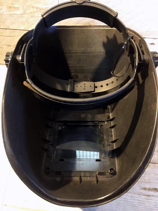中古 SUZUKID WIDE VIEW WELMET 溶接用ヘルメット面_画像5