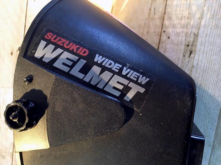 中古 SUZUKID WIDE VIEW WELMET 溶接用ヘルメット面_画像3
