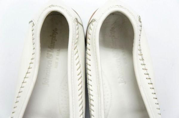 良品 JOHNSTON&MURPHY ジョンストン&マーフィー タッセルローファー USA製 白 ホワイト 26.5cm US8.5 ビンテージ アメリカ オールド 革靴_画像9