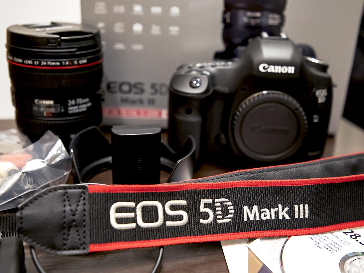 ★プロ定番デジタル一眼『Canon EOS 5D Mark III』ズームレンズキット。美品。付属品・元箱/64GB SDカード付。送料無料!_画像7
