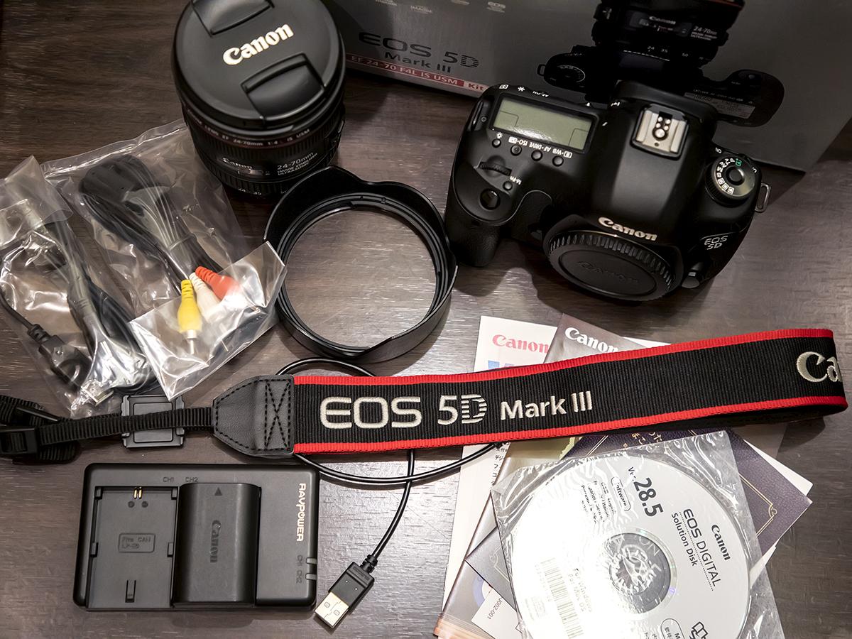 ★プロ定番デジタル一眼『Canon EOS 5D Mark III』ズームレンズキット。美品。付属品・元箱/64GB SDカード付。送料無料!_画像8