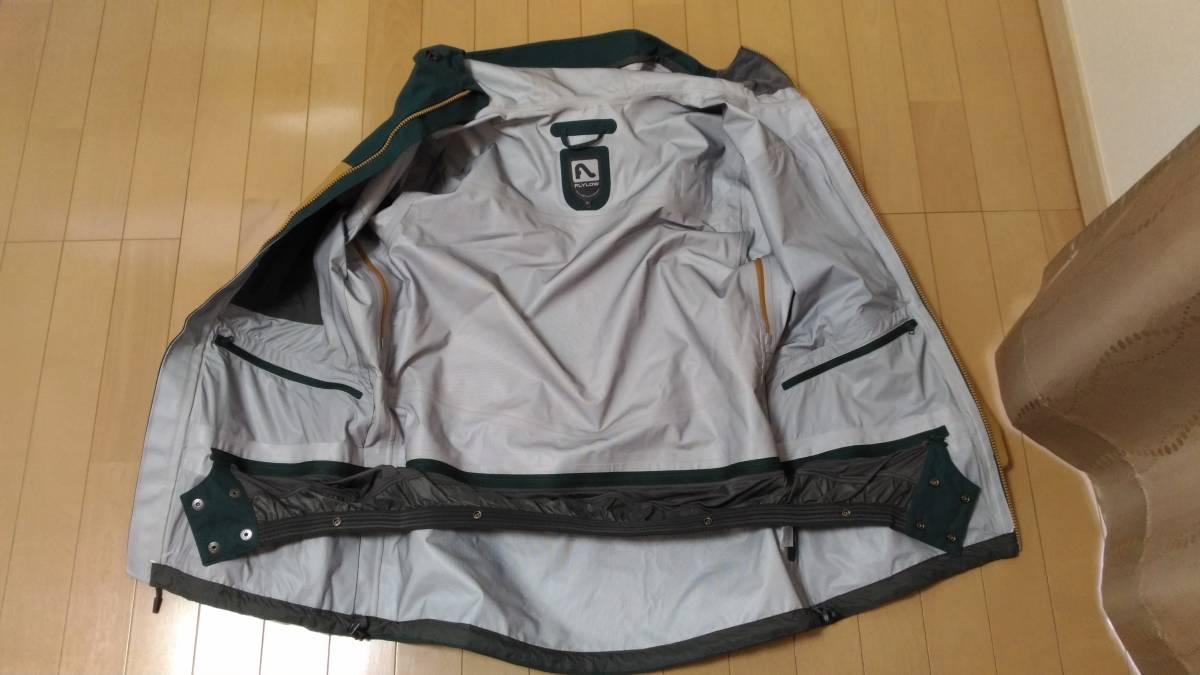 【2回着用】FLYLOW Quantum Jacket & Baker Bib Size US-S 【中古美品】_画像4