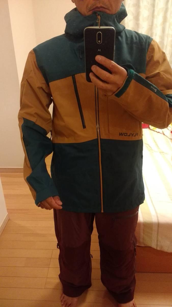【2回着用】FLYLOW Quantum Jacket & Baker Bib Size US-S 【中古美品】_画像8