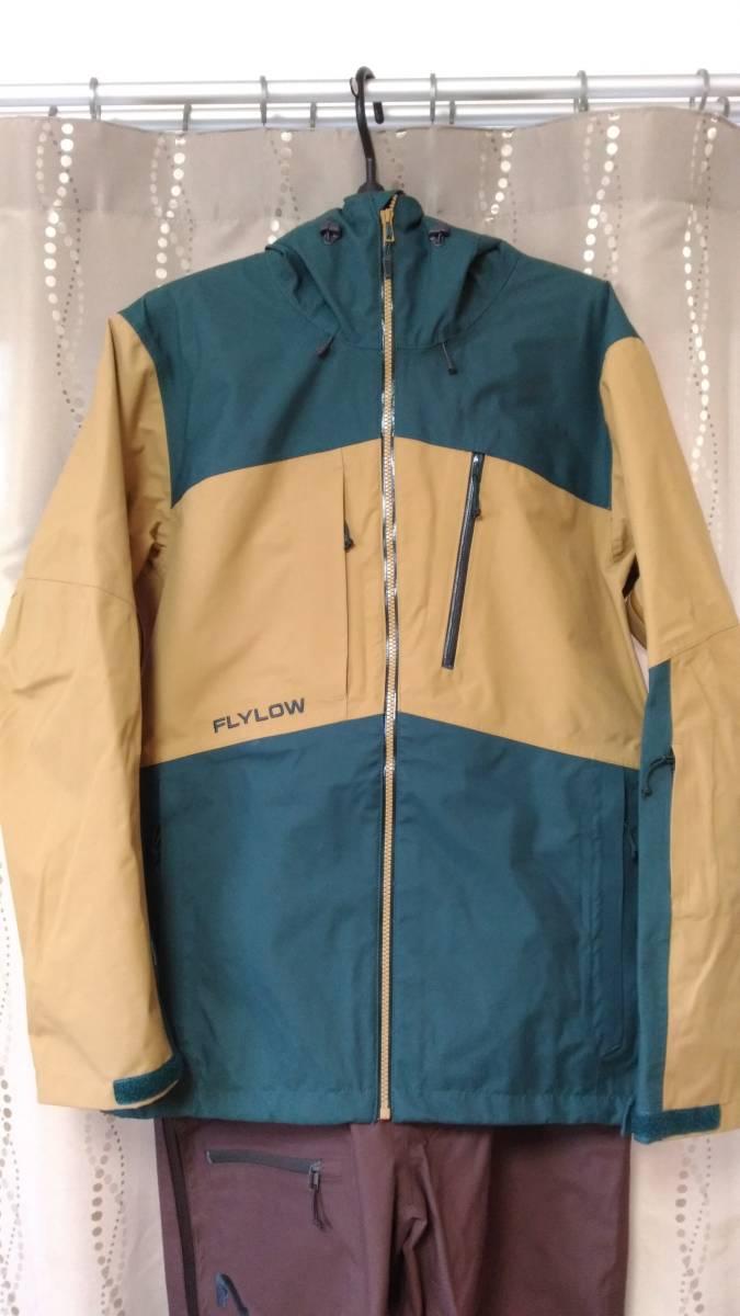 【2回着用】FLYLOW Quantum Jacket & Baker Bib Size US-S 【中古美品】_画像2