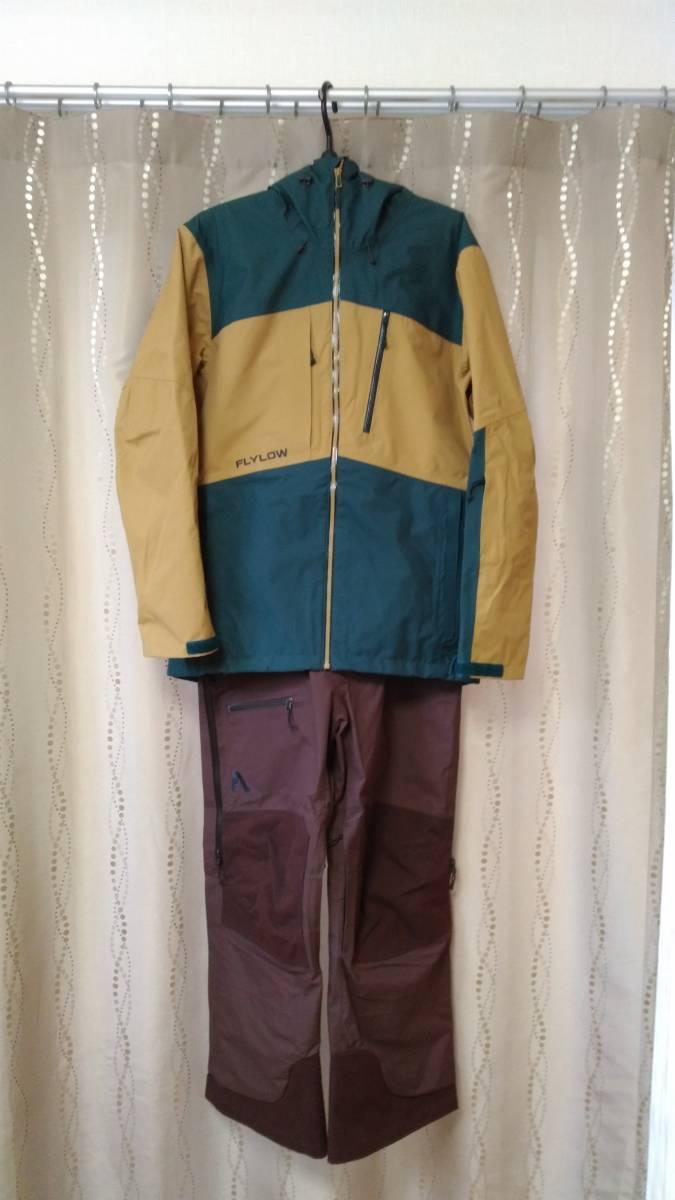 【2回着用】FLYLOW Quantum Jacket & Baker Bib Size US-S 【中古美品】_画像1