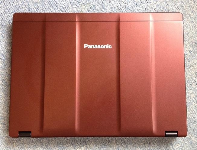 ★良品!Panasonic Let's note プレミアム CF-SZ5AFPQP Core i5/MEM8GB/HDD1TB/OFFICE/LTE/スーパマルチ ワインレッド 送料無料★_画像2