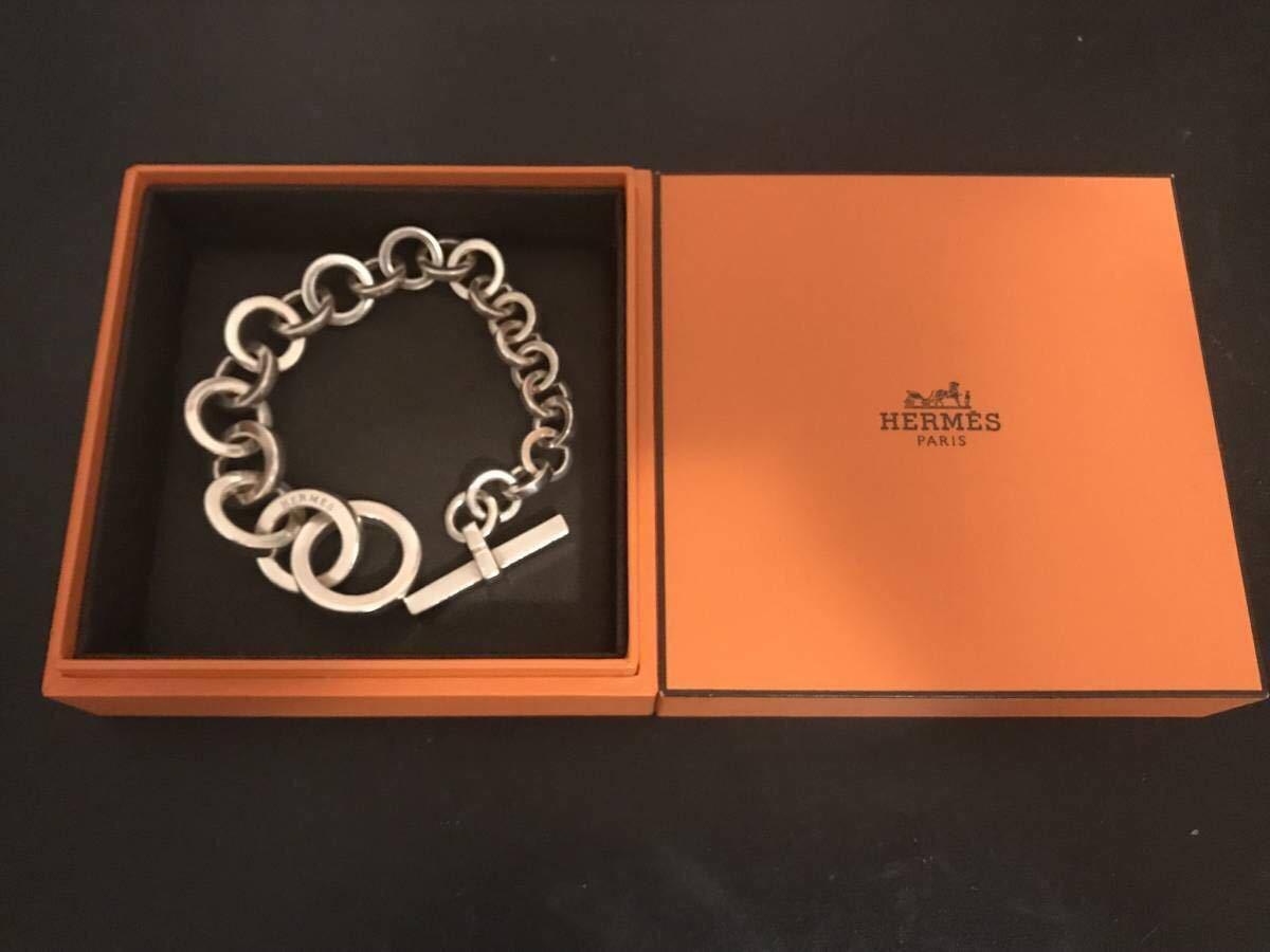 エルメス キャラバン クレッシェンド ブレスレット Hermes bracelet crescendo /シェーヌダンクル /アクロバット_画像3