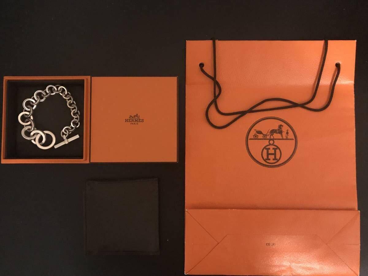エルメス キャラバン クレッシェンド ブレスレット Hermes bracelet crescendo /シェーヌダンクル /アクロバット_画像4