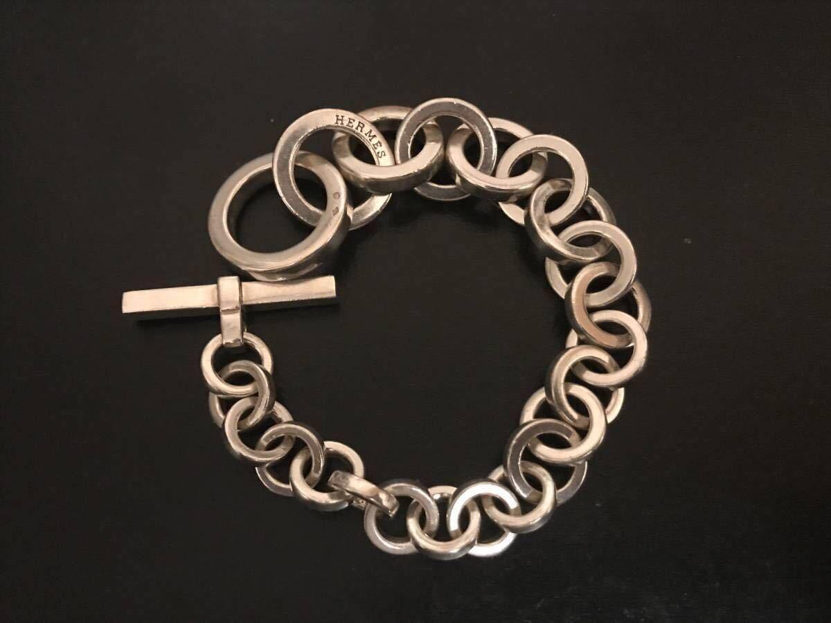 エルメス キャラバン クレッシェンド ブレスレット Hermes bracelet crescendo /シェーヌダンクル /アクロバット_画像2