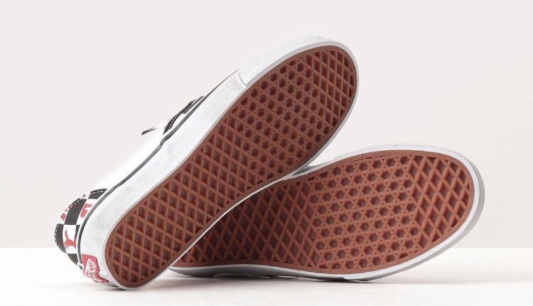 即決23.5cm VANS VIVIENNE WESTWOOD ANGLOMANIA CHECKERBOARD SLIP-ONヴィヴィアンウエストウッド アングロマニア 新品正規品US5.5_画像3