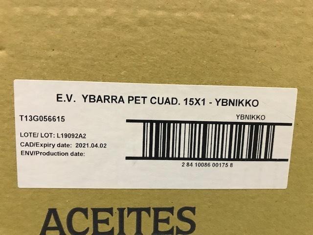 激安 イバラ エクストラバージンオリーブオイル NEW PET ボトル 1Lx15本(15L)(ケース価格)_画像5