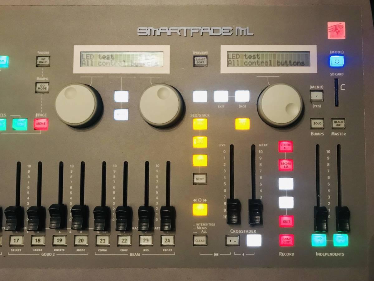 ETC Smartfade ML DMX 照明卓 ムービング 調光 コントローラー 舞台照明_画像3