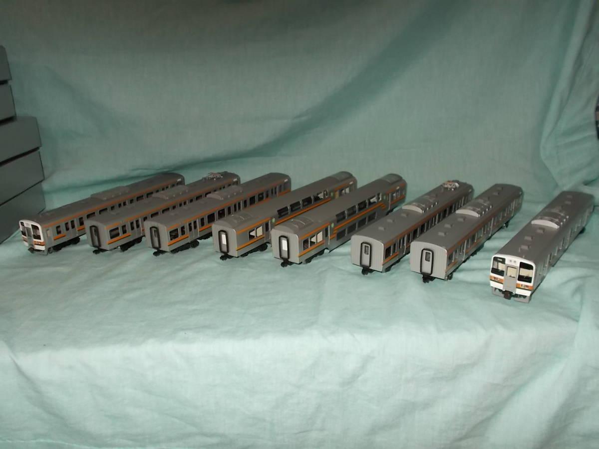 KATUMI模型店 211系 クハ211を先頭とする8両 ダブルデッカー編成_画像1