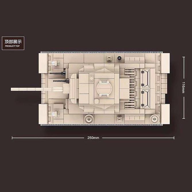 LEGO互換 3号戦車_画像3