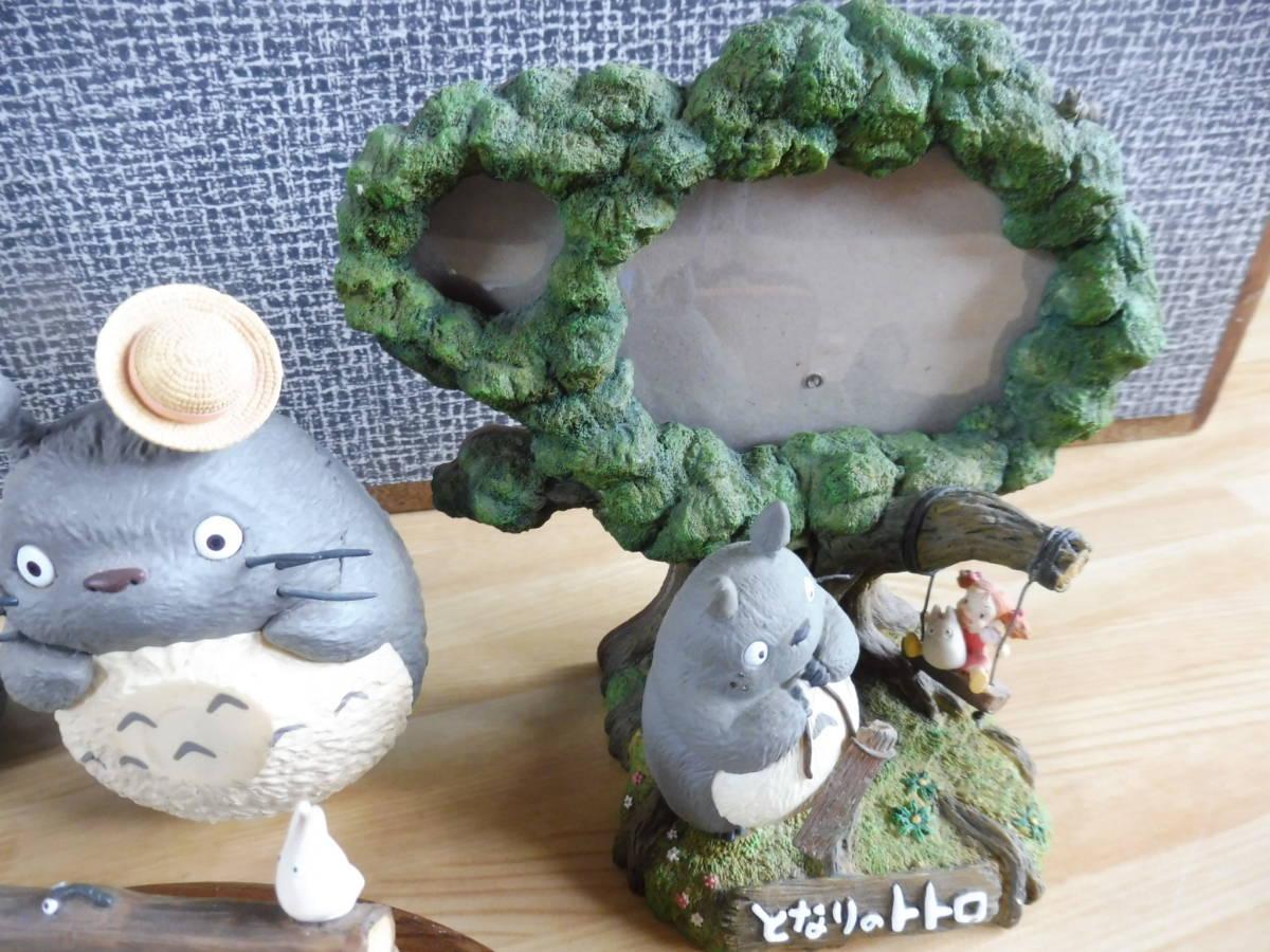 となりのトトロ フィギュア いろいろ スタジオジブリ 宮崎駿監督 貴重品 レア 新品もあります_画像6