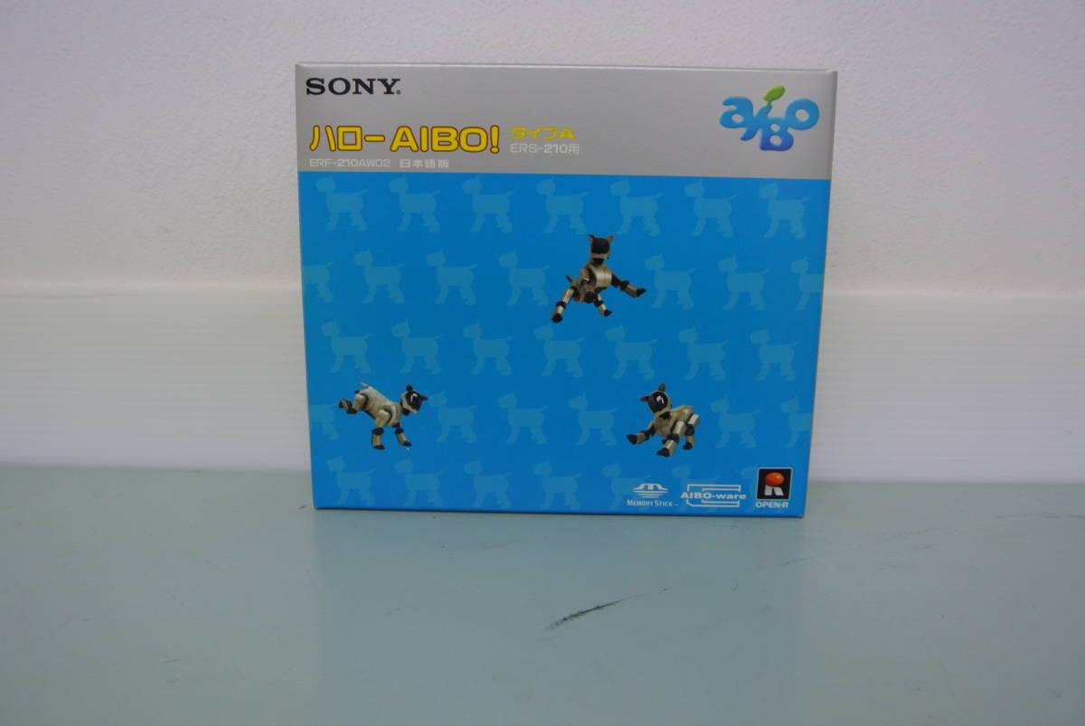 SONY 未開封品・2代目 AIBO(アイボ)6点セット_ハローAIBO!タイプA ERF-210AW02