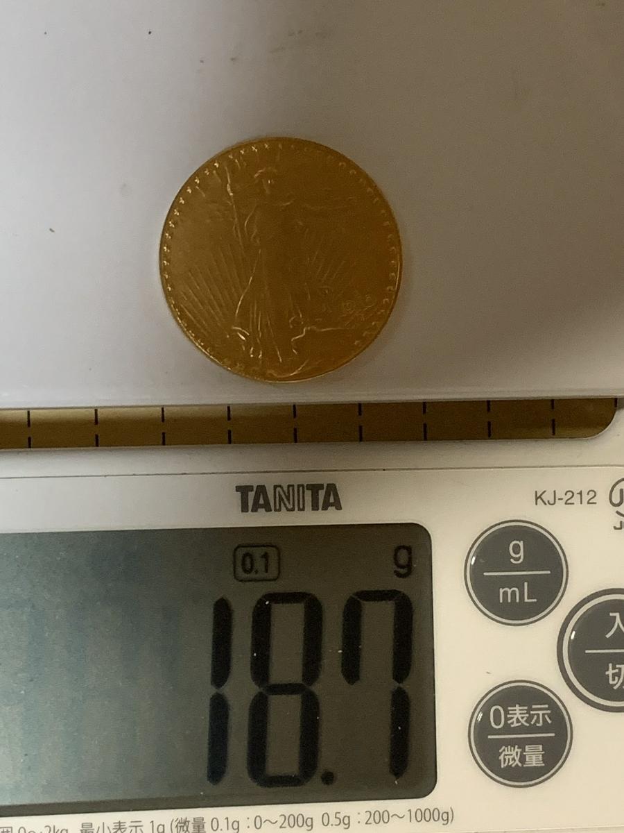【Ωコイン】女神立像 アメリカ 20ドル 1910年銘 検)古銭硬貨貨幣金貨ゴールド系 レア記念 メダル 希少 海外外国世界 レプリカ復刻 t8_画像7