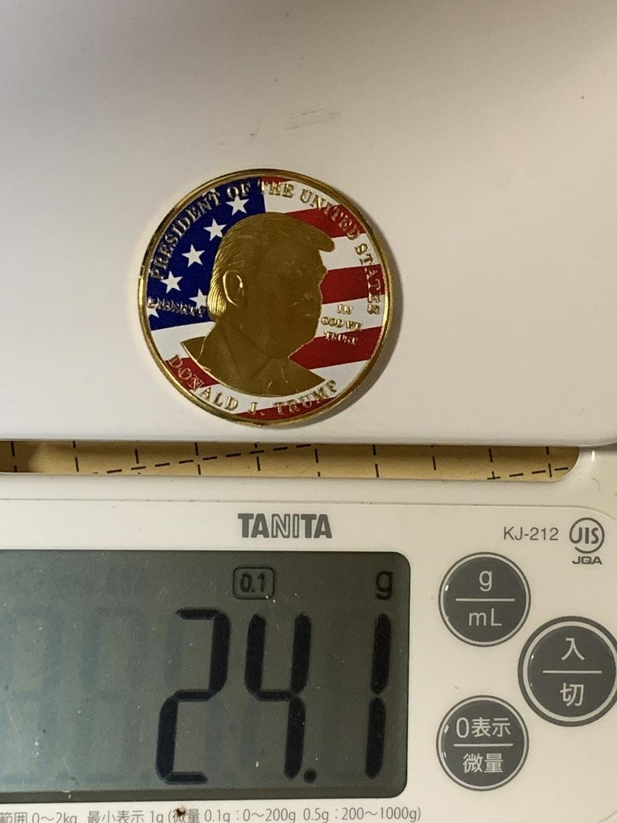 【Ωコイン】アメリカ ドナルド・トランプ大統領 ゴールド色系ver 共和党 検)非古銭硬貨貨幣金貨 レア記念 メダルグッズ 外国 m12_画像7
