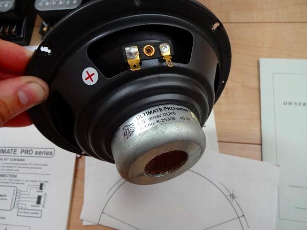 ジャンク DLS UP6 ULTIMATE PRO シリーズ 6.5 インチ スピーカー ツィーター ウーハー スカンジナビア 6.5 16.5cm 2Way クロスオーバ-_画像2