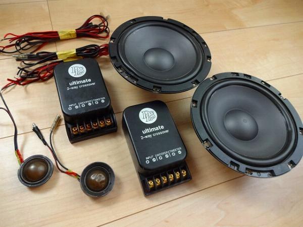 ジャンク DLS UP6 ULTIMATE PRO シリーズ 6.5 インチ スピーカー ツィーター ウーハー スカンジナビア 6.5 16.5cm 2Way クロスオーバ-_画像3