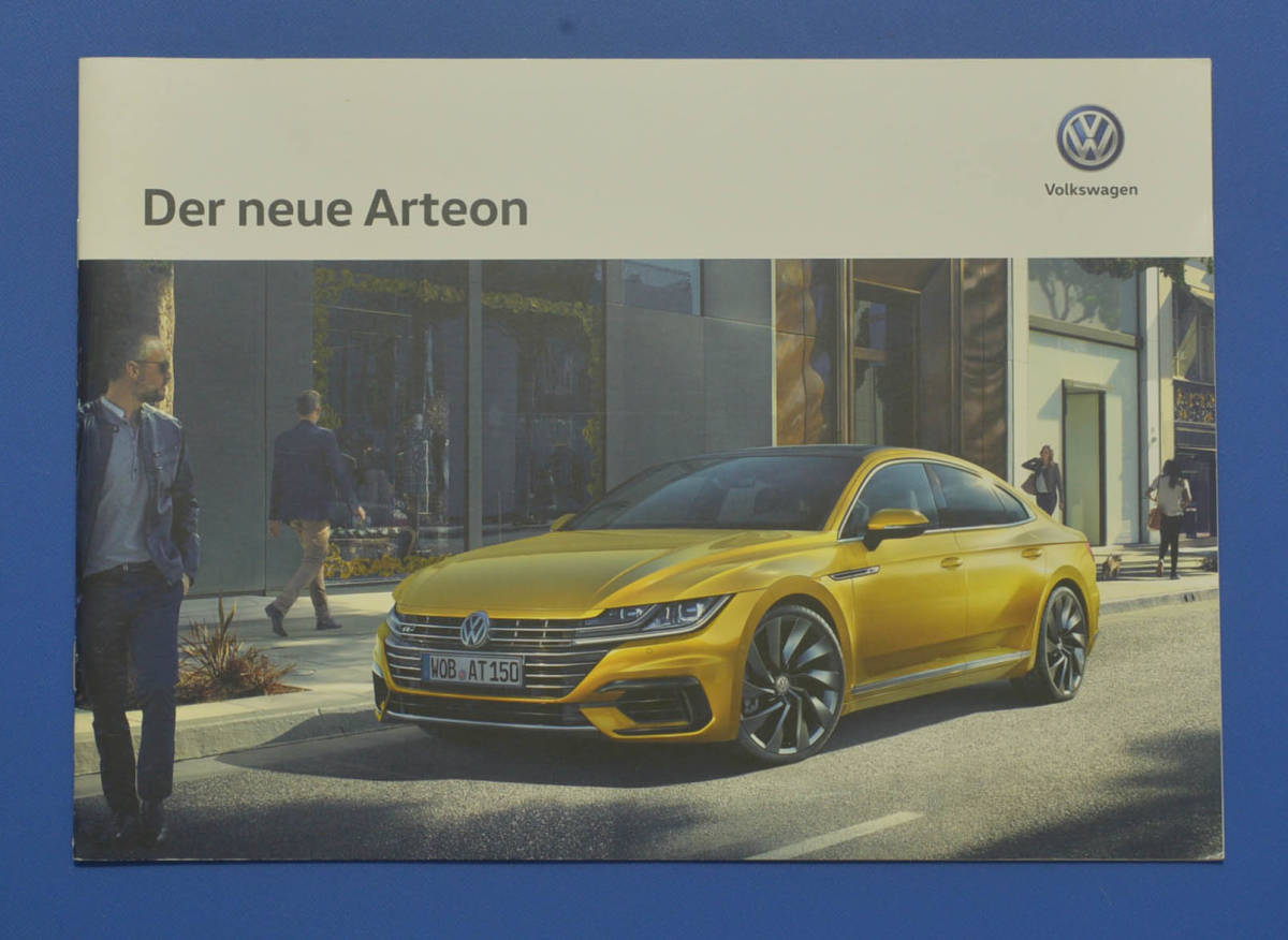 VW フォルクスワーゲン アルテノン Volkswagen Arteon 2017年3月 ドイツ版カタログ ドイツ語表記 送料無料 希少品 美品 I02_画像1
