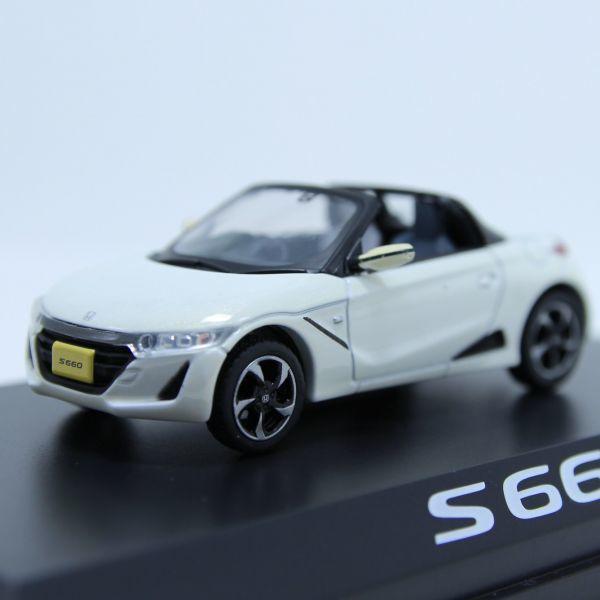レア 希少 ミニカーHONDA ホンダ S660 ホワイト カラーサンプル 1/43_画像5