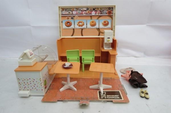 KZ83A 1円~ リカちゃんハウス 人形 家具 洋服 おもちゃ まとめて 大量セット ドーナツショップ ペットショップ TAKARA_画像3