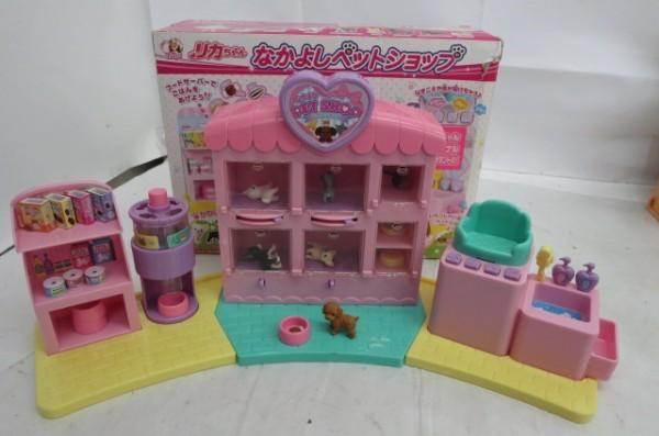 KZ83A 1円~ リカちゃんハウス 人形 家具 洋服 おもちゃ まとめて 大量セット ドーナツショップ ペットショップ TAKARA_画像2
