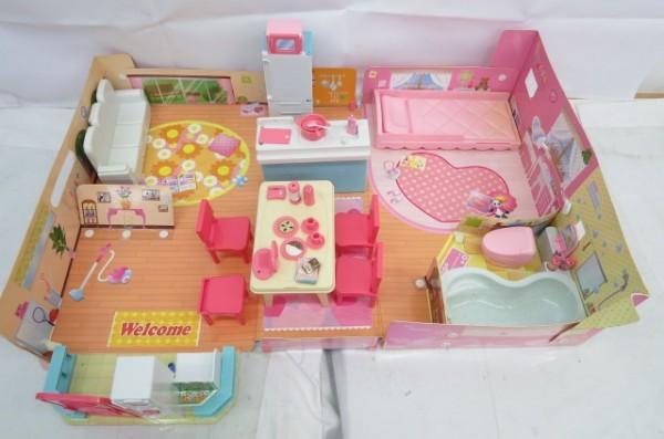 KZ83A 1円~ リカちゃんハウス 人形 家具 洋服 おもちゃ まとめて 大量セット ドーナツショップ ペットショップ TAKARA_画像4