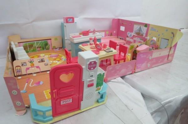 KZ83A 1円~ リカちゃんハウス 人形 家具 洋服 おもちゃ まとめて 大量セット ドーナツショップ ペットショップ TAKARA_画像5
