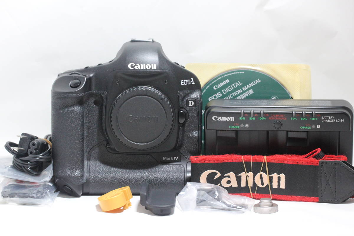 ☆動作確認済み☆ Canon EOS-1 D Mark IV Body