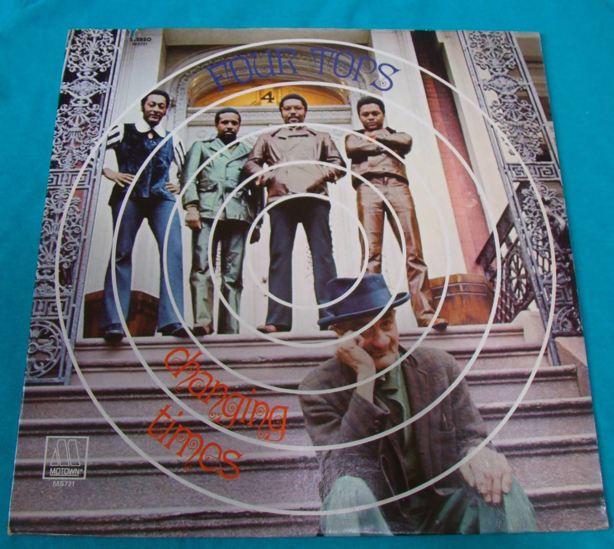 LP●Four Tops / Changing Times US盤M721_画像1
