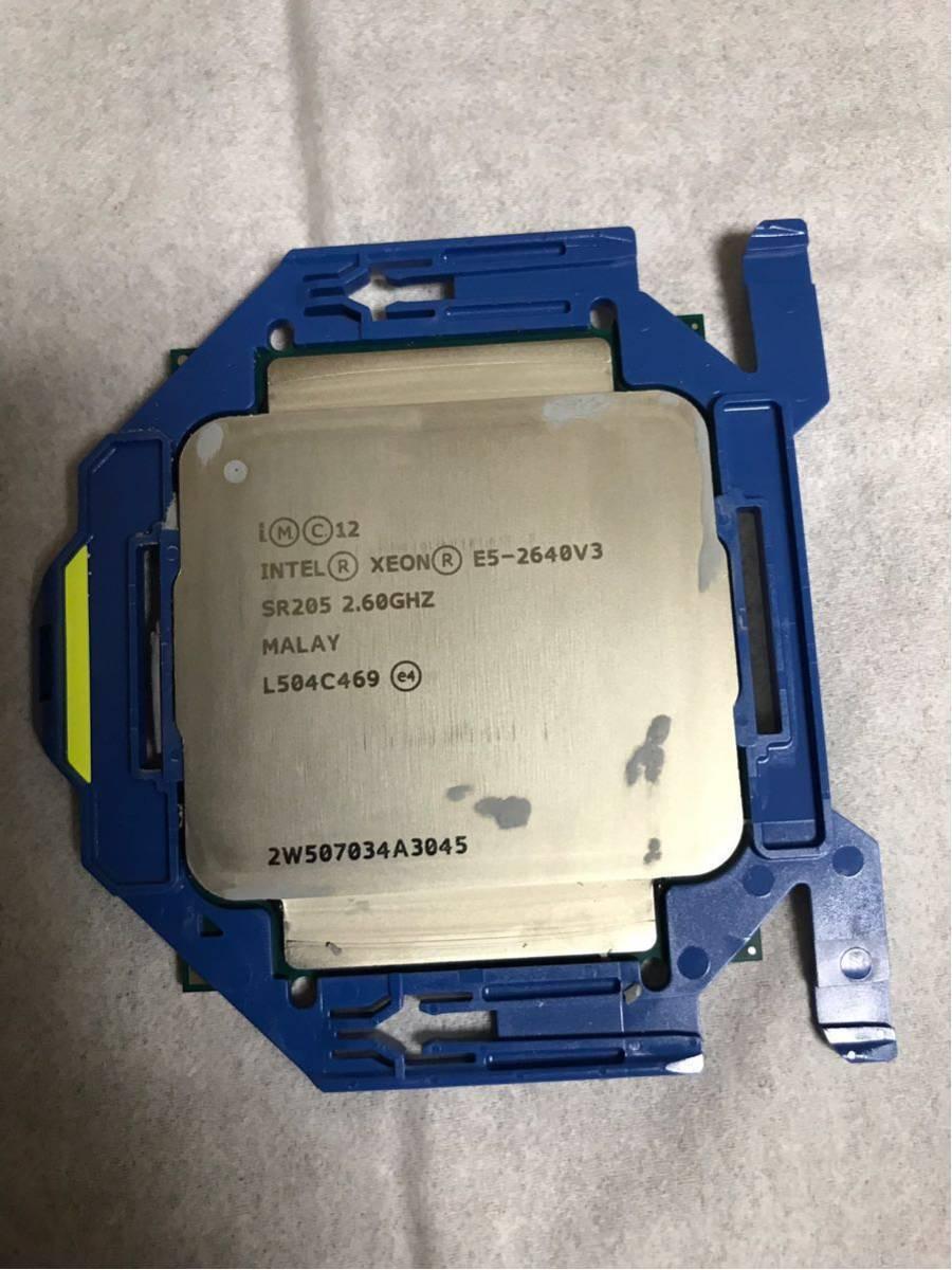 ★Intel Xeon E5-2640V3 SR205 2.60GHz 動作確認済 のみ本体