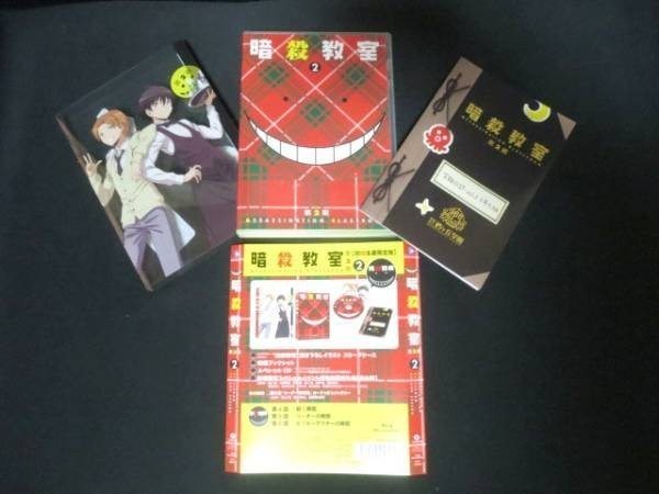 暗殺教室 第2期 2巻 BD Blu-ray ブルーレイ 初回生産限定版 1009-2_画像1