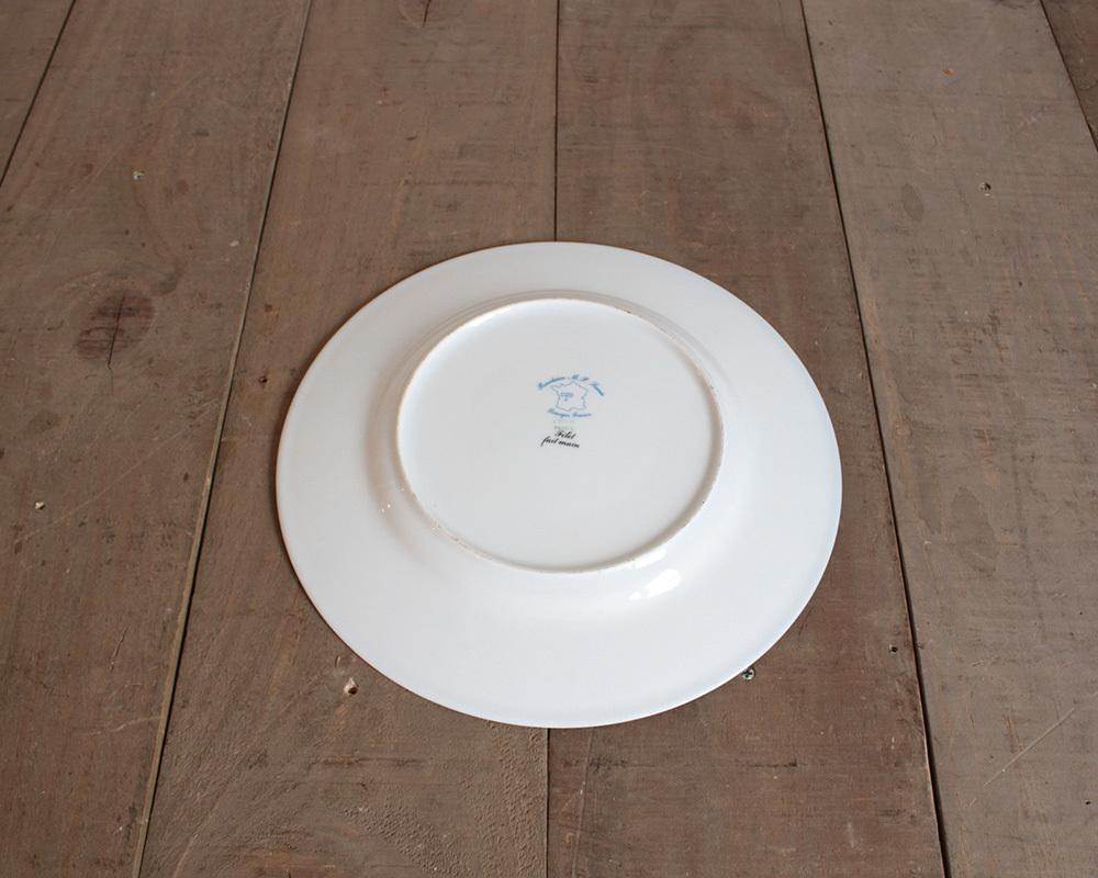 jf00655 仏国*フランスアンティーク*食器 絵皿 ピクチャープレート クリスマスギフト ディスプレイ LIMOGES リモージュ 陶器 飾り皿_画像6