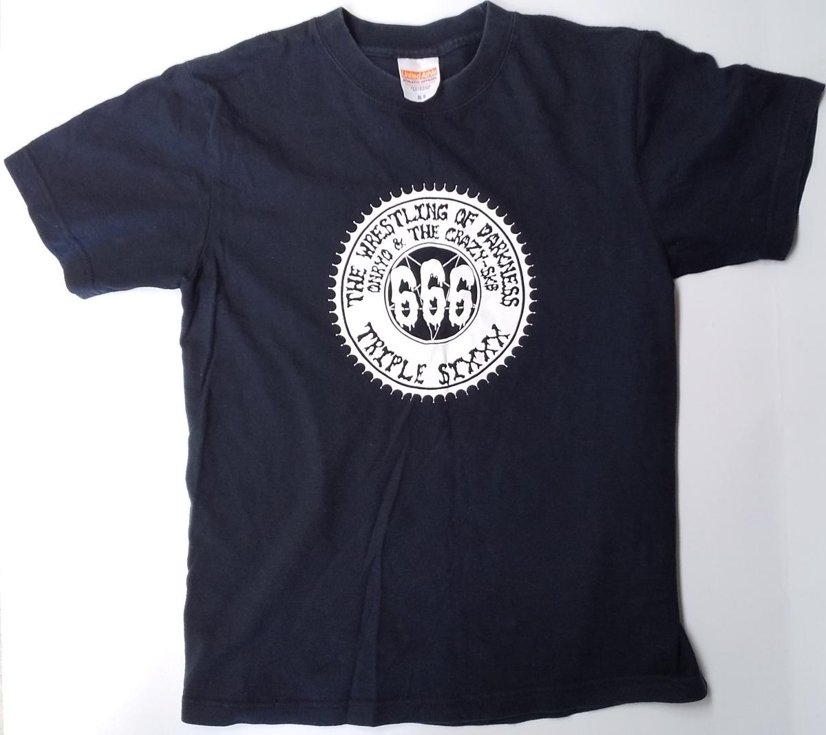 暗黒プロレス組織666 T-shirt S 怨霊 CRAZY SKB _画像1